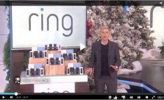 Ring Doorbell featured on Ellen